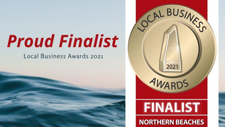 Proud Finalist - Local Business Awards