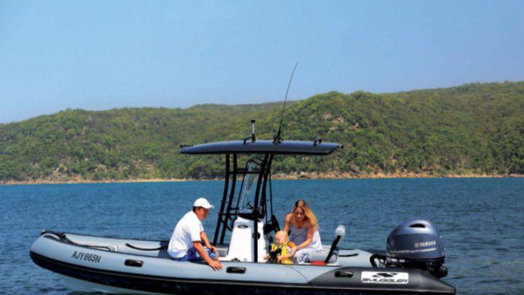 Smuggler 580 Strata RIB new to Australia
